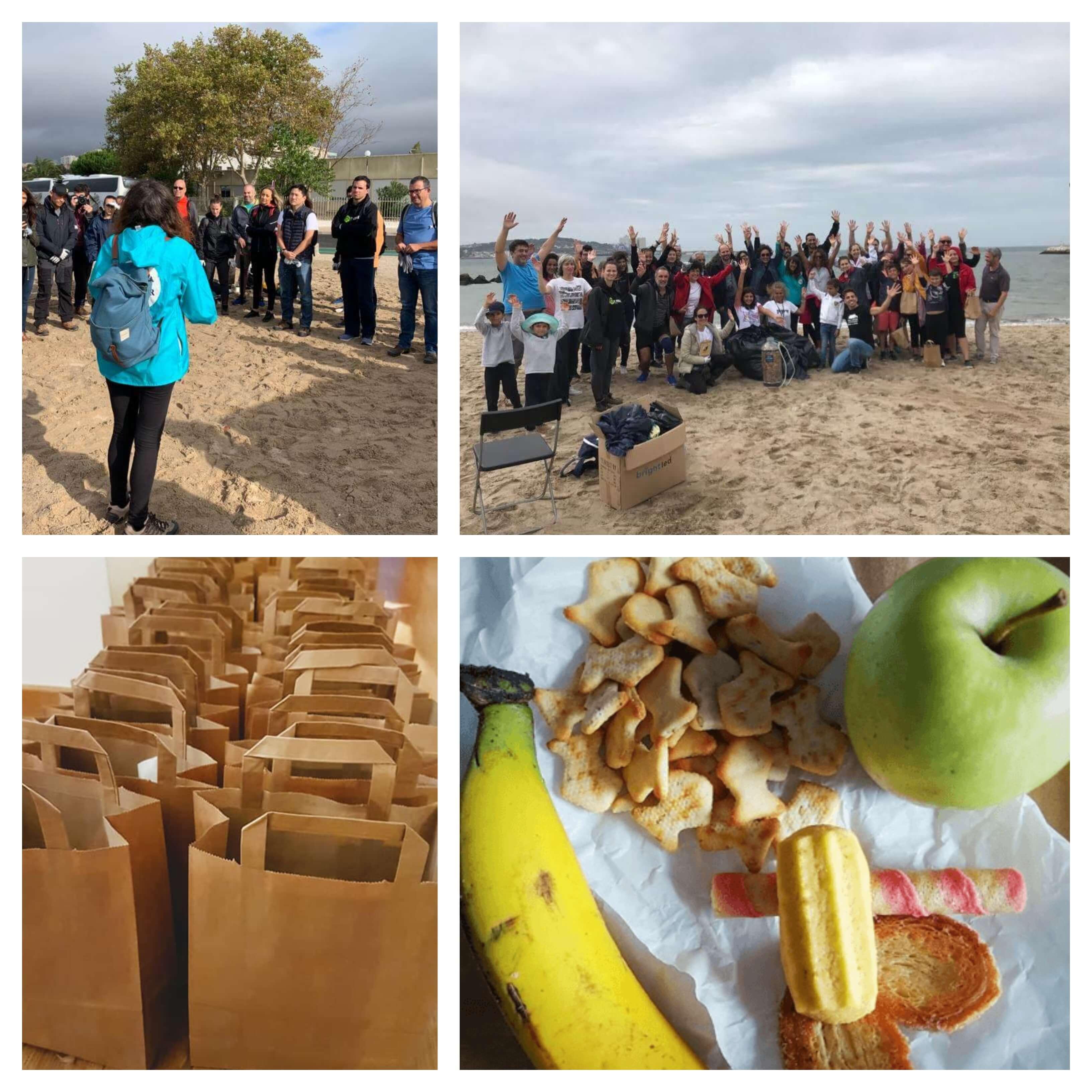 Responsabilidade Ambiental | 21 de setembro 2019 - Dia de Limpeza de Praia | IT People Innovation