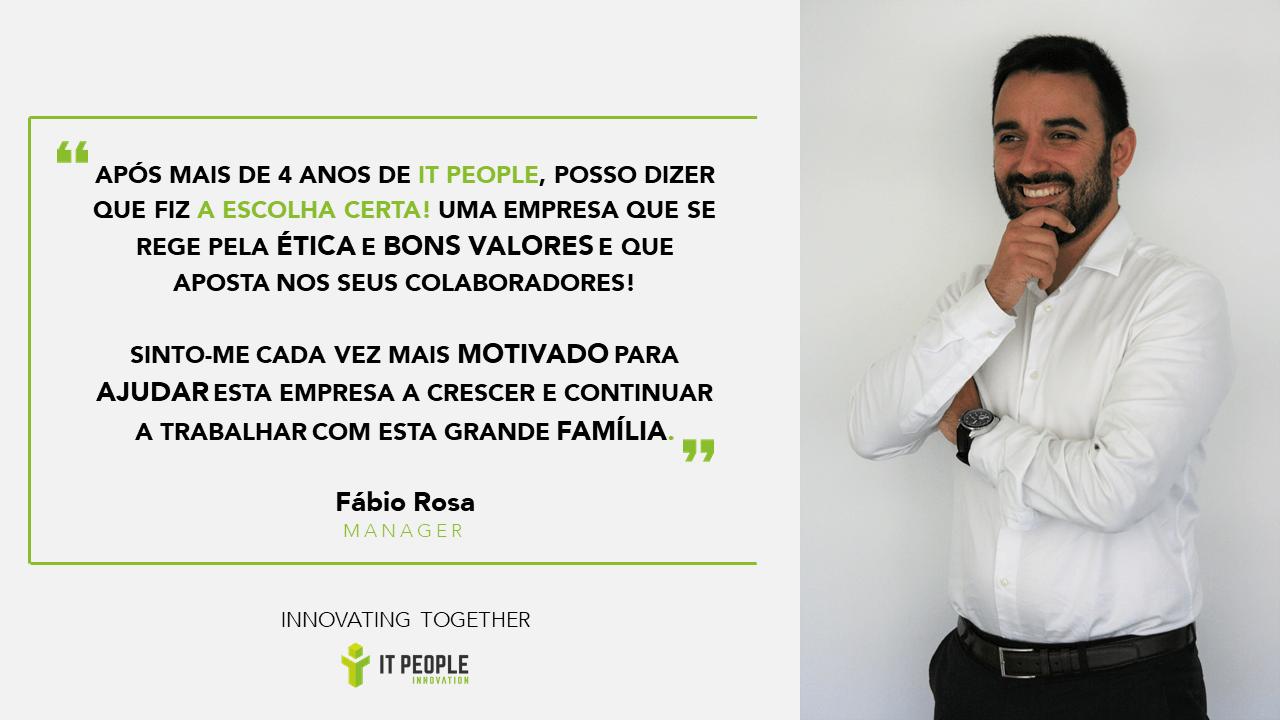 Fábio Rosa - Senior Manager @ IT People Innovation