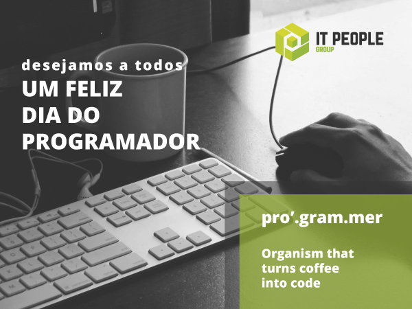Happy Programmer's day - IT People Innovation - Dia do Programador