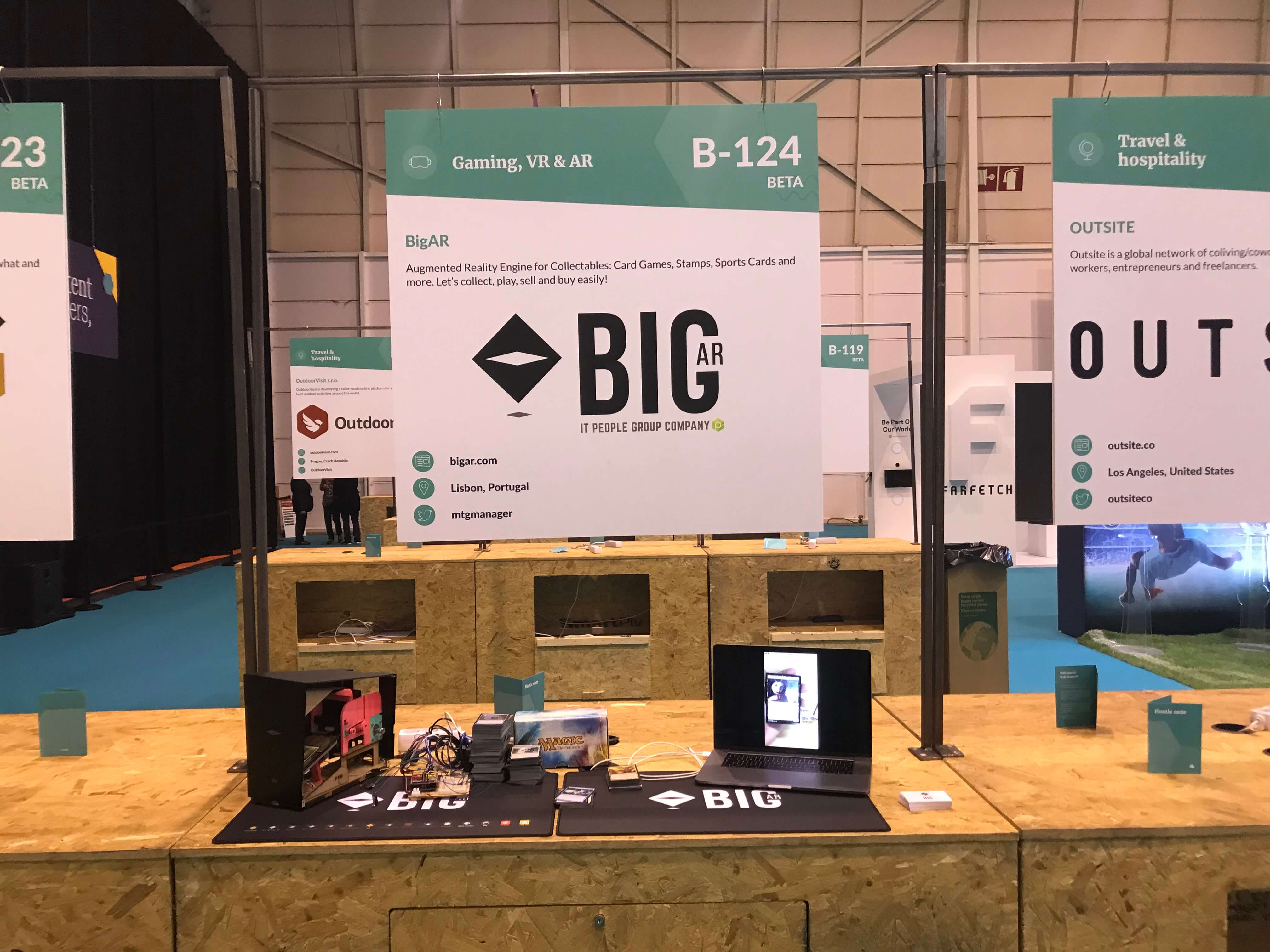 IT People Innovation - Spinoff Startup BigAR Web Summit 2018