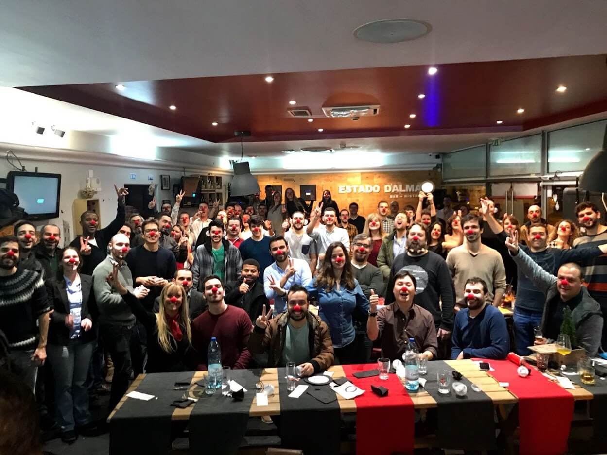 Jantar de Natal IT People Innovation 2017 Christmas Parte Cena de Navidad