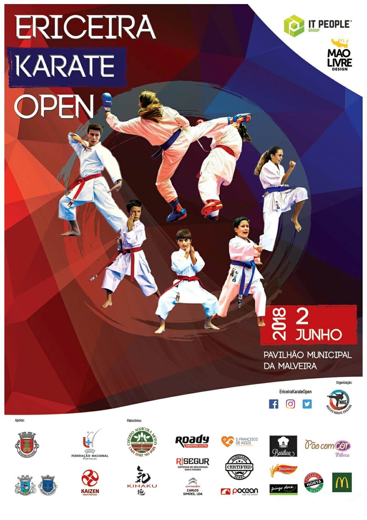 Karate Open - Patrocinio - IT People Innovation - Sponsor