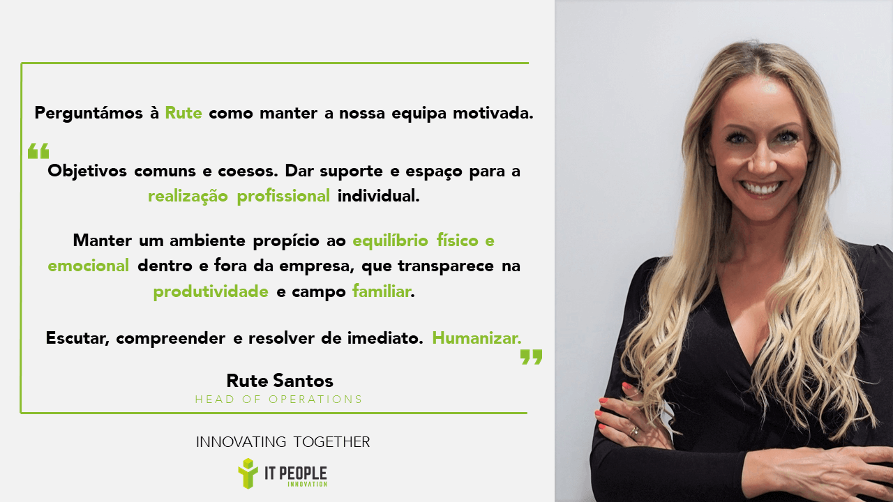 Rute Santos - Executive Director @ IT People Innovation