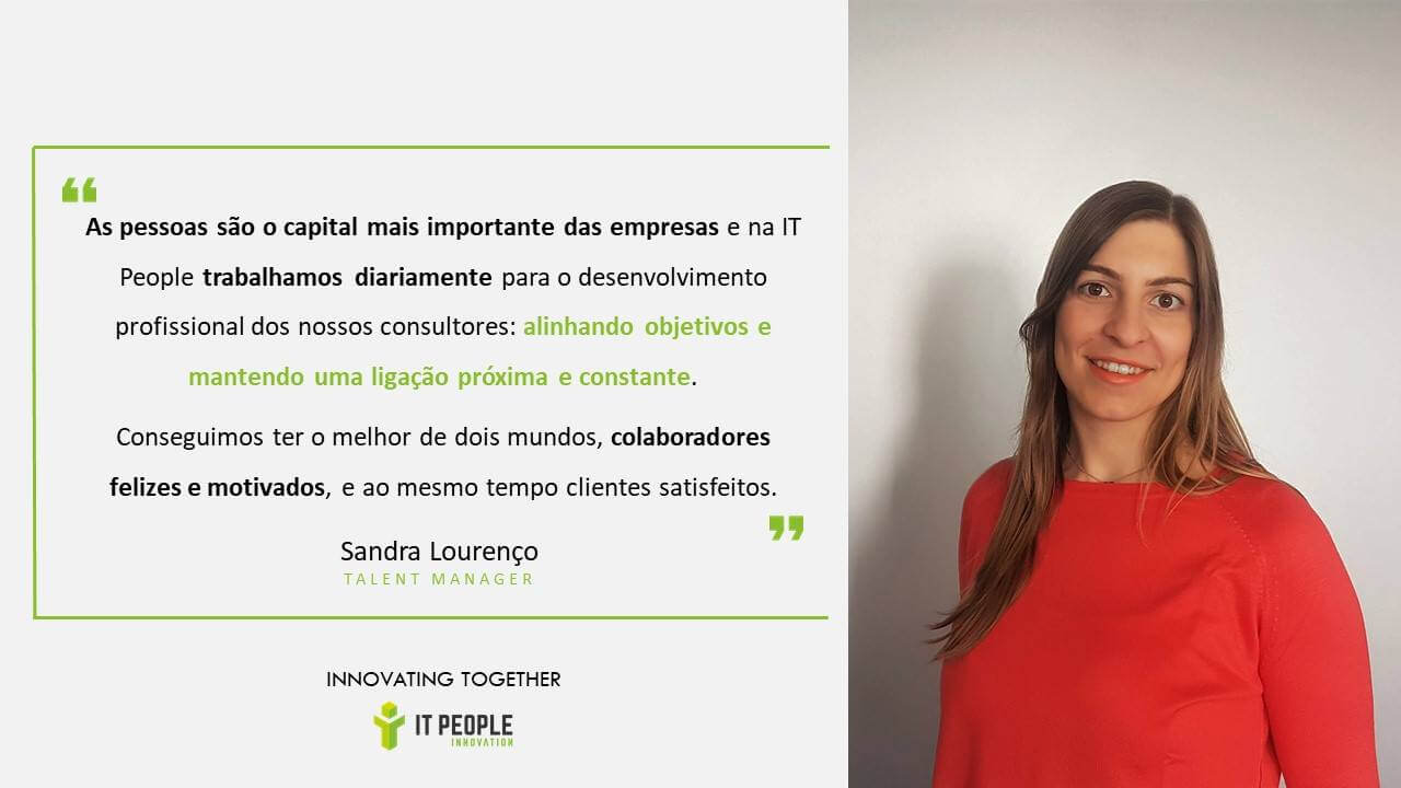 Sandra Lourenço - HR Manager @ IT People Innovation