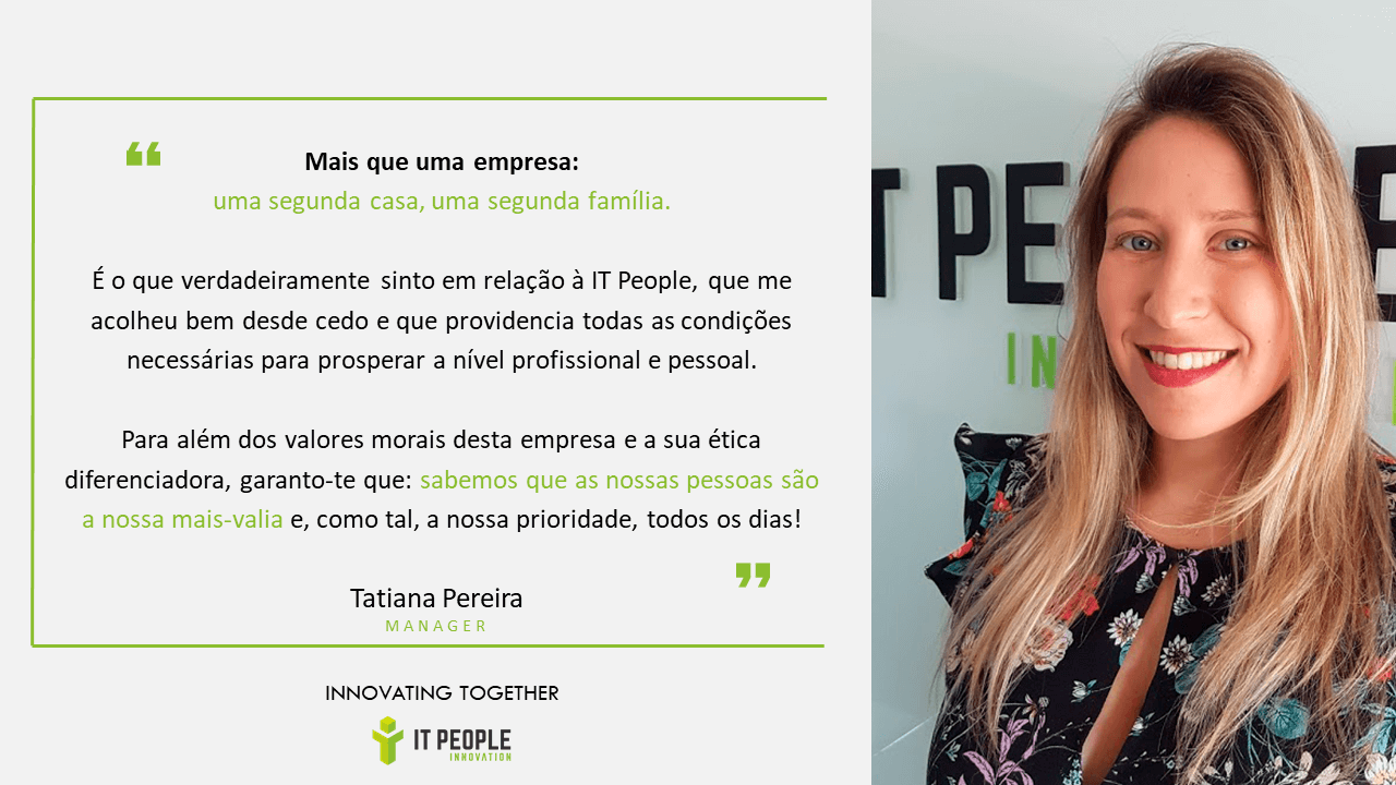 Tatiana Pereira - Manager @ IT People Innovation