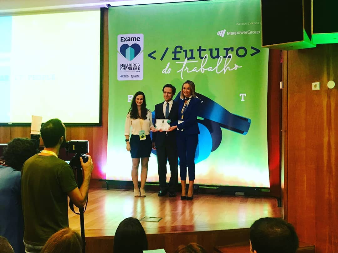 IT People Innovation - 16a Melhor Empresa para Trabalhar em Portugal 2019 - Best Company 2019