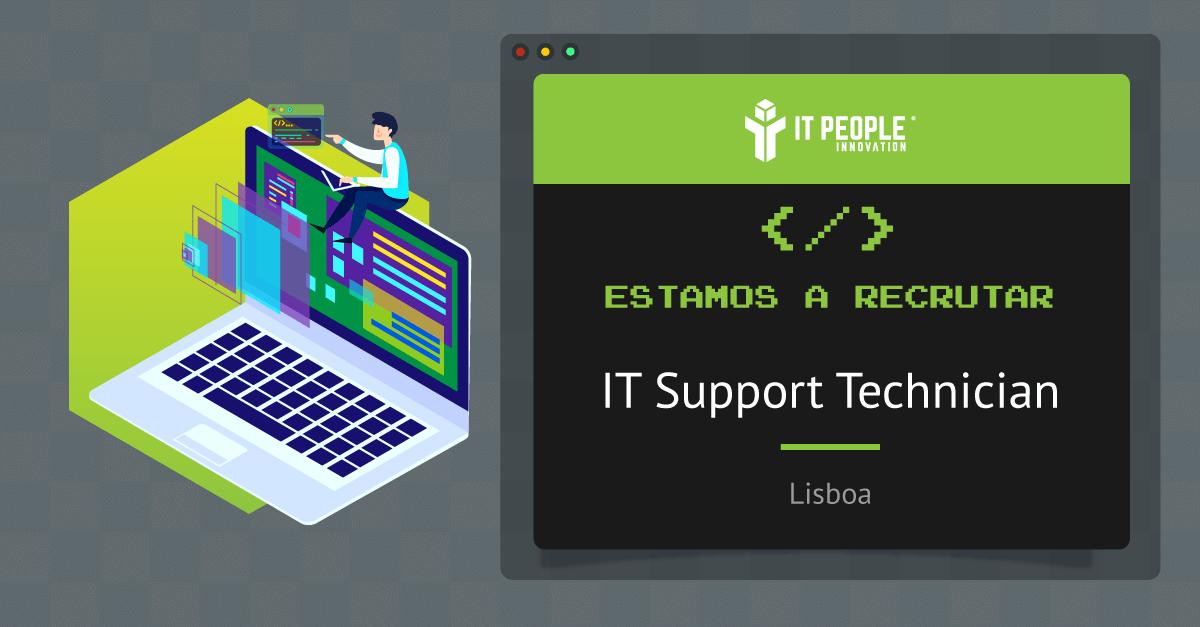 projeto para it support tech - lisbo a- it people innovation