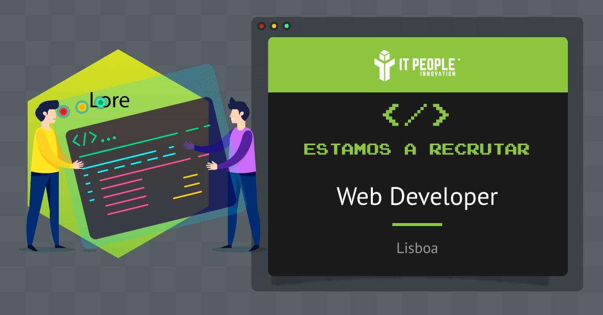 Projeto para Web Developer - Lisboa - IT People Innovation
