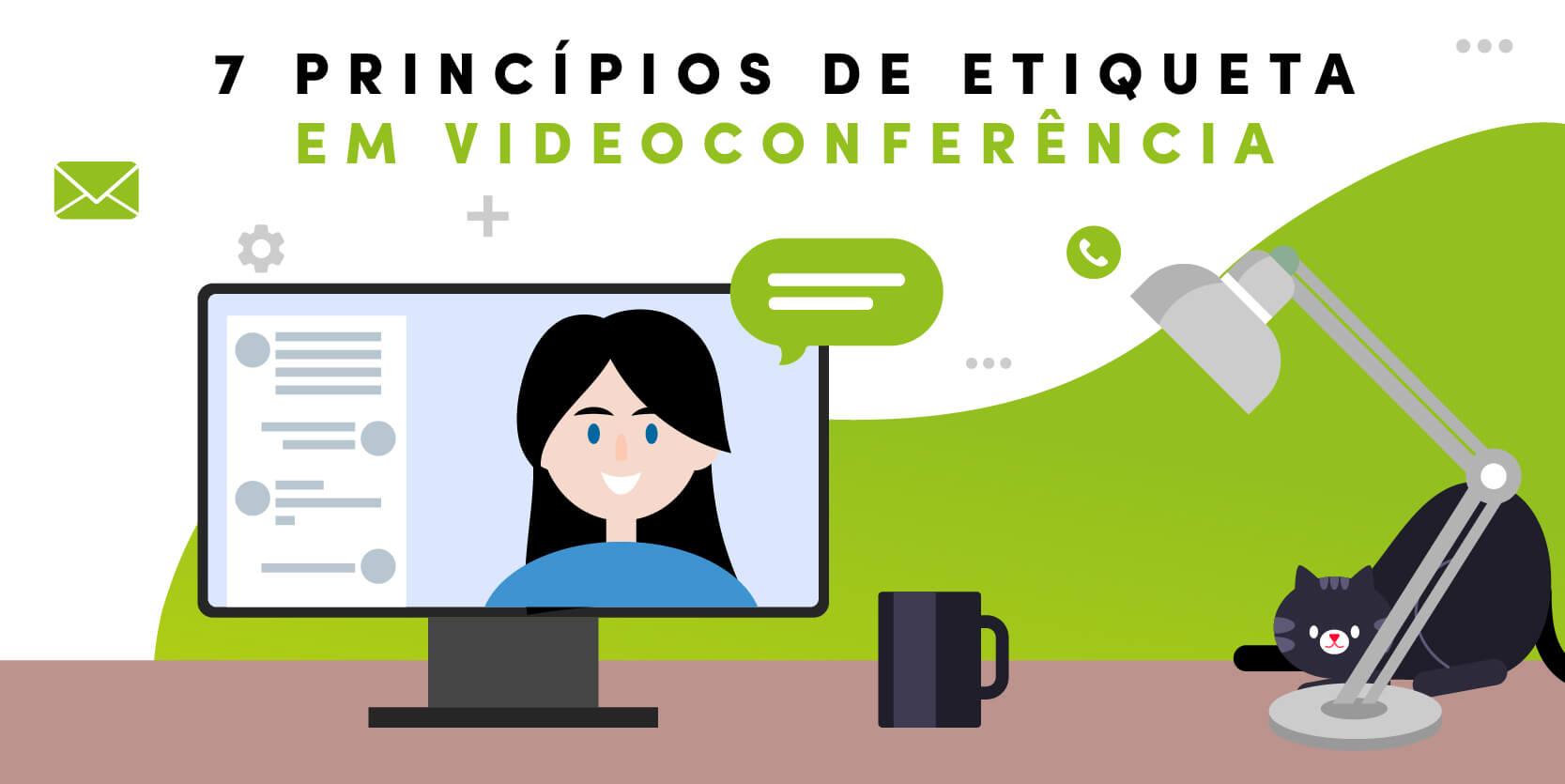 Infografia - 7 princípios de etiqueta em videoconferência - IT People Innovation