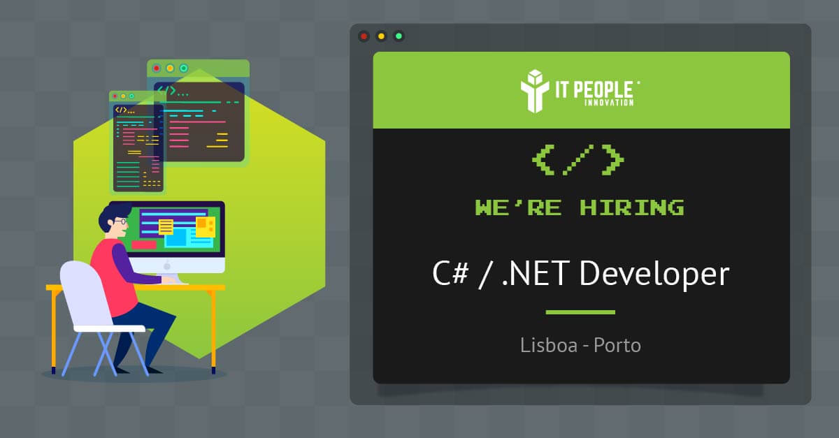 We are hiring a C# .NET Developer EN