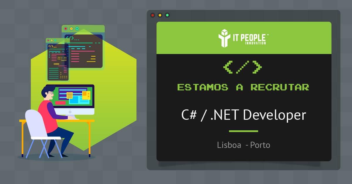 Estamos a recrutar C#/.Net Developer