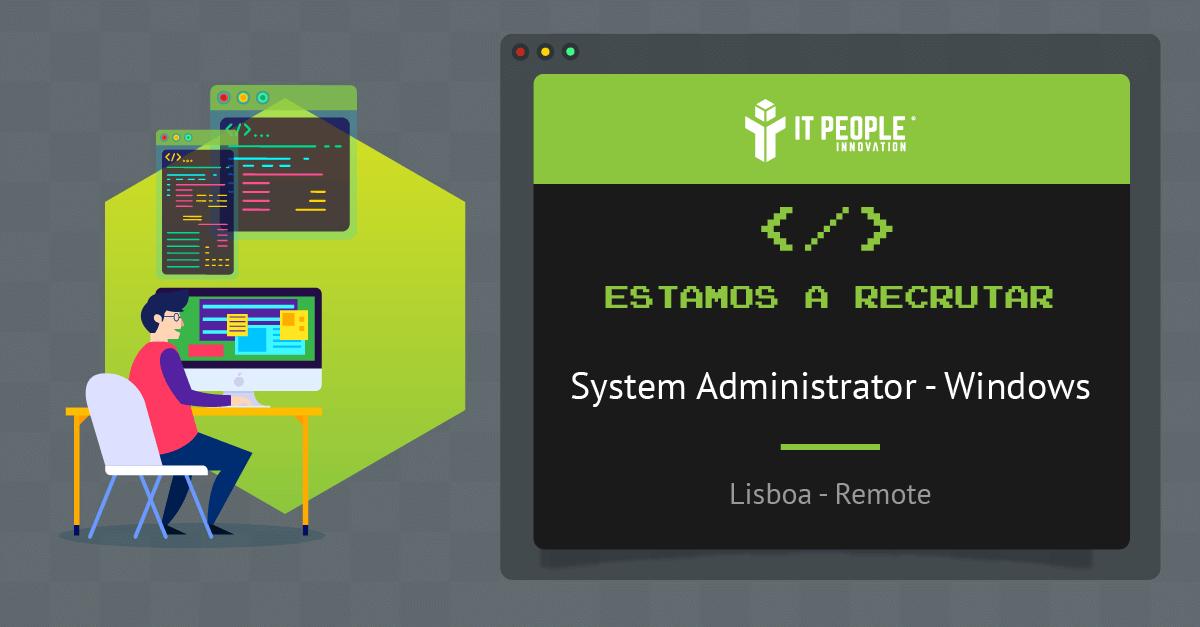 Sys Admin Windows PT