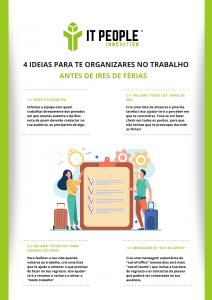4 ideias para te organizares no trabalho antes de ires de férias