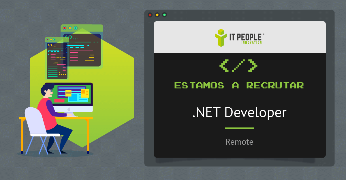 Estamos a recrutar .NET developer