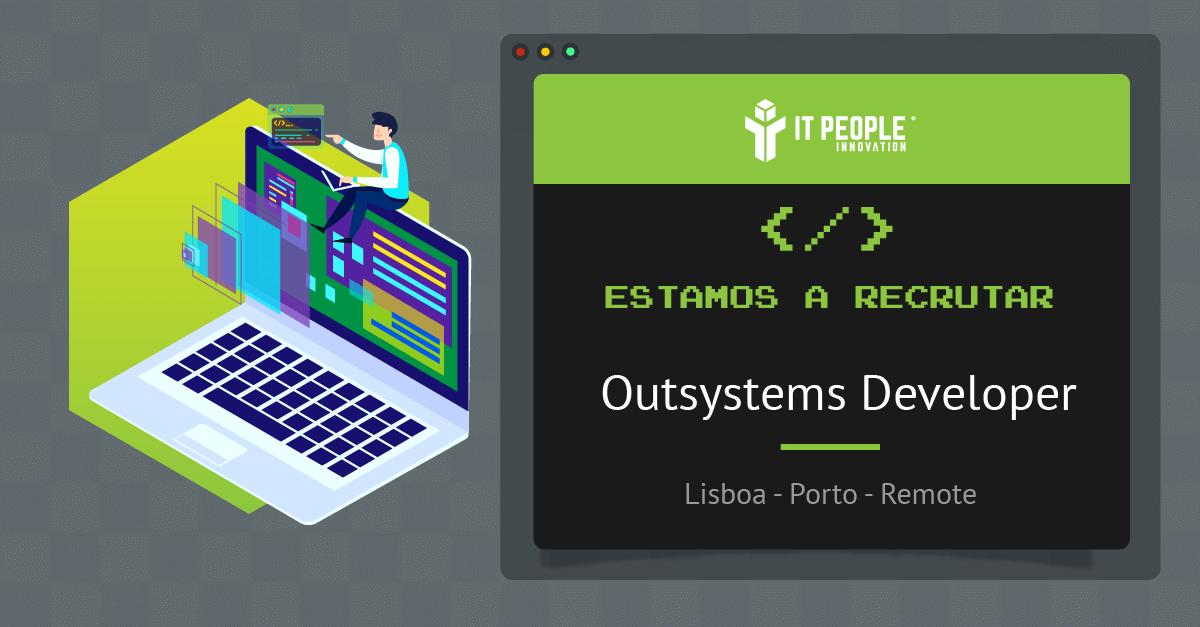 Estamos a recrutar outsystems developer