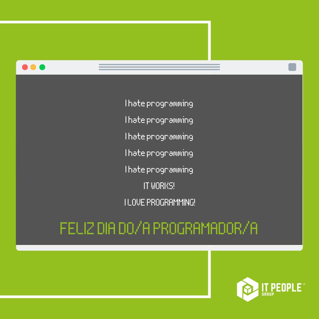 Feliz dia do Programador 2021