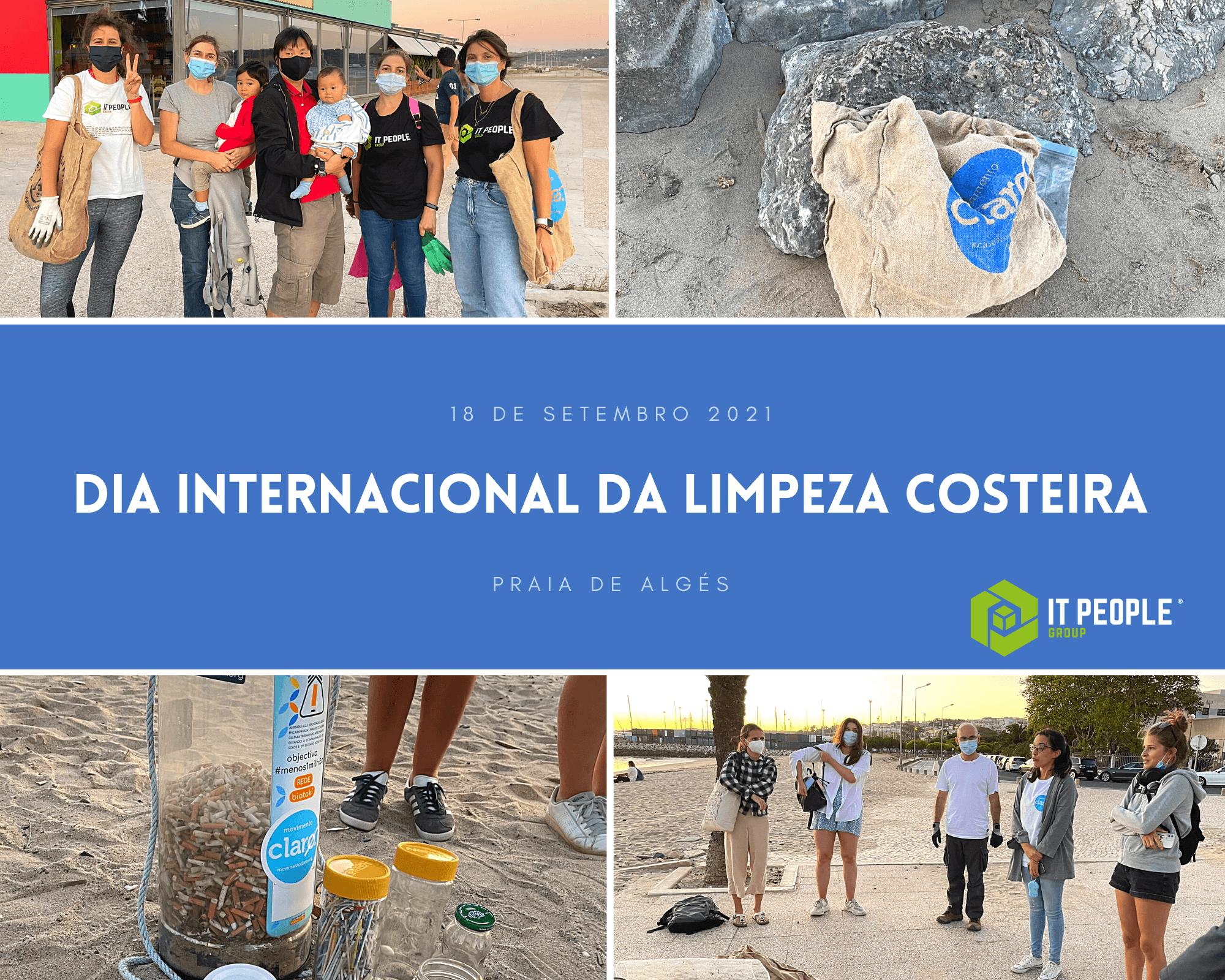 Dia Internacional da Limpeza Costeira 2021